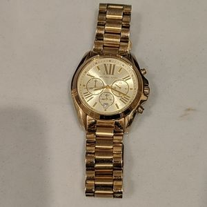 Michael Kors gold women's watch